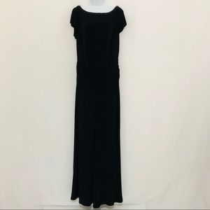 Lauren Ralph Lauren black evening dress